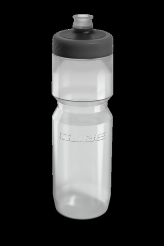 Cube Trinkflasche Grip 0,75l transparent