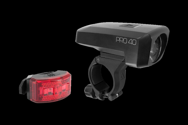 Cube ACID Beleuchtungsset PRO 40 black