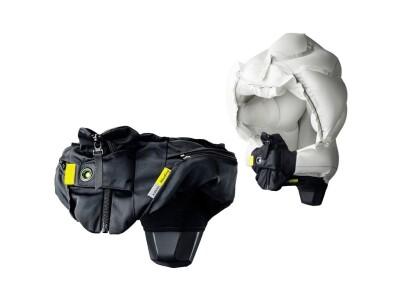 Hövding Helm 3 Airbaghelm inkl.Schal schwarz verstellbar