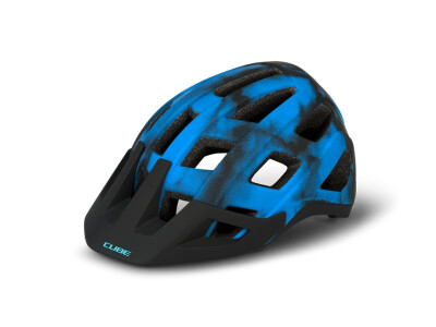 Cube Helm BADGER blue