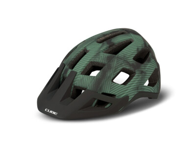 Cube Helm BADGER green