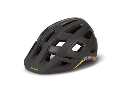 Cube Helm BADGER black/splash