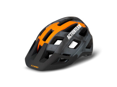 Cube Helm BADGER X Actionteam grey/orange