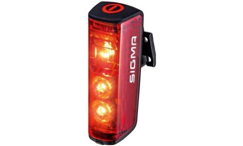 Sigma LED Akkurücklicht Blaze mit Bremslicht schwarz