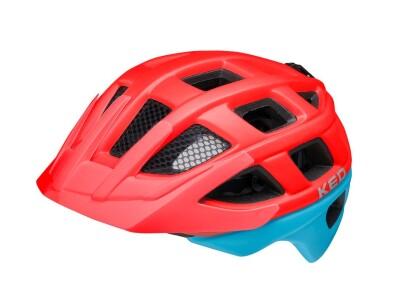 KED Kailu Kinder/Jugend Helm red blue matt