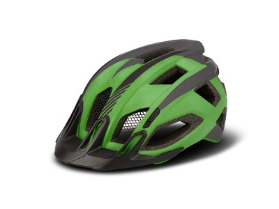 Cube Helm QUEST green´n´grey´n´black