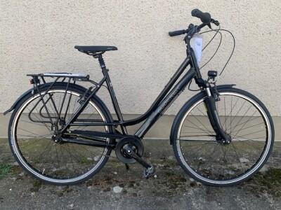 Gudereit Comfort 7.0 Dame 28 Zoll schwarz glanz