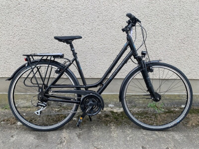 Gudereit LC30 Dame 28Zoll schwarz glanz