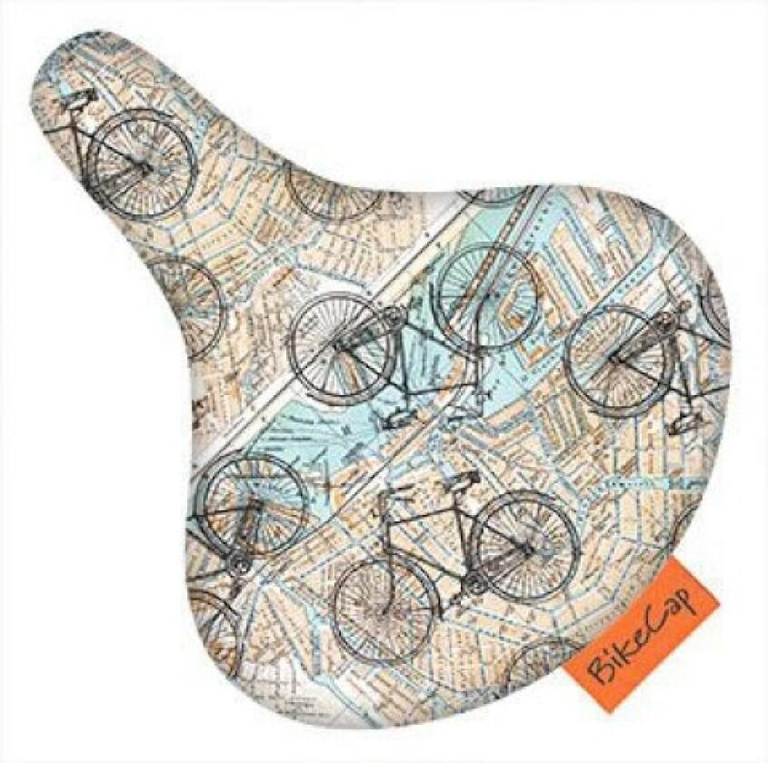 Bikecap Sattelüberzug Wasserabweisend verschiedene Muster