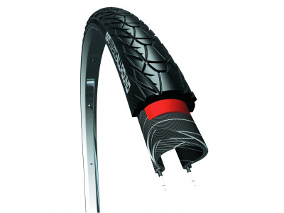 Fahrradreifen Sensamo Allround schwarz Reflex