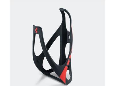 Cube Flaschenhalter black n red matt