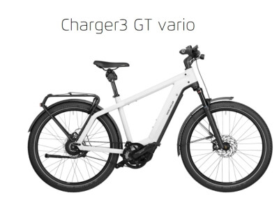 Riese und Müller Charger3 GT Vario, HR56, 625Wh, Nyon, ceramic white