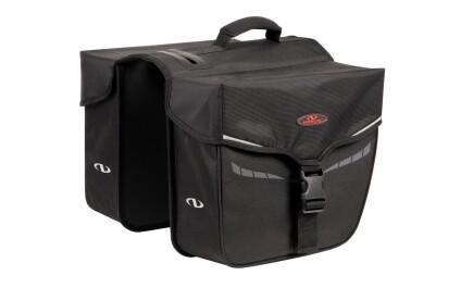 """Norco Bags Doppeltasche """"Idaho"""" Schwarz 2 x 10 l Volumen"""