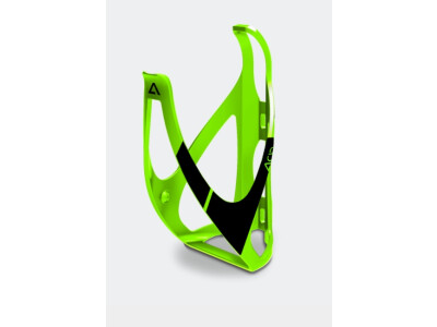 Cube Flaschenhalter ACID green n black matt