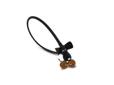 """RFR Kabelschloss HPS """"DOG"""" mit Schlüssel schwarz"""