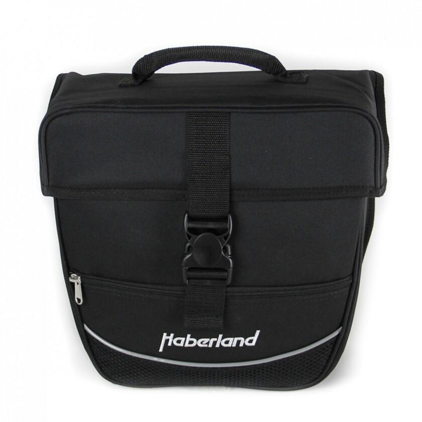"""Haberland Einzeltasche """"Einsteiger"""" Schwarz 12,5 l Volumen"""
