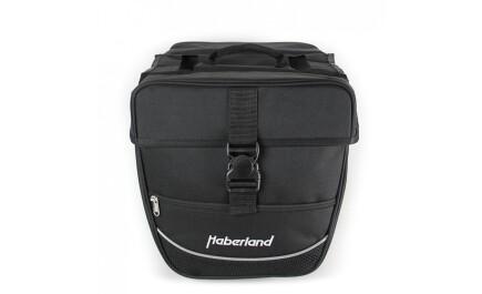 """Haberland Doppeltasche """"Einsteiger"""" Schwarz 25 l Volumen"""