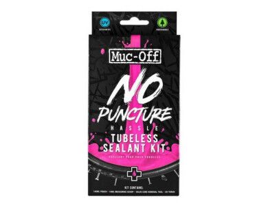 Muc-Off No Puncture Hassle Tubeless Dichtmilch Kit 140ml