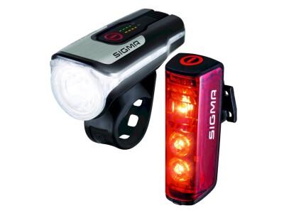 Sigma Beleuchtungsset Aura 80 FL /Rücklicht Blaze