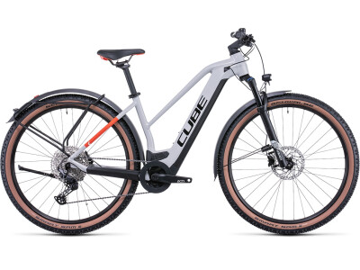 Cube Reaction hybrid Pro 625 Allroad grey´n´red Trapez  29 2022