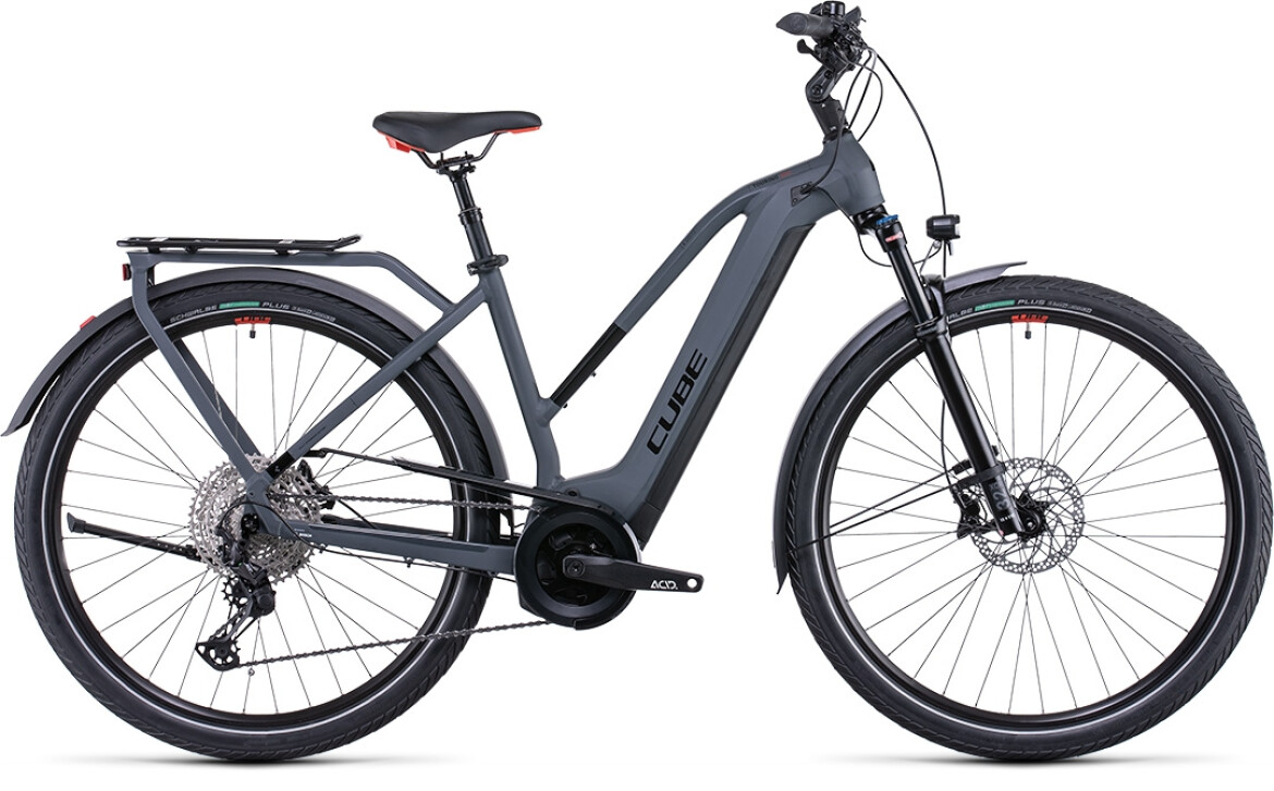Cube Touring Hybrid EXC 625 grey´n´red Trapez 2022