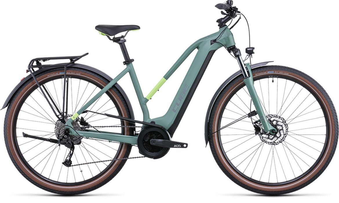 Cube Touring Hybrid ONE 625 green´n´sharpgreen Trapez 2022