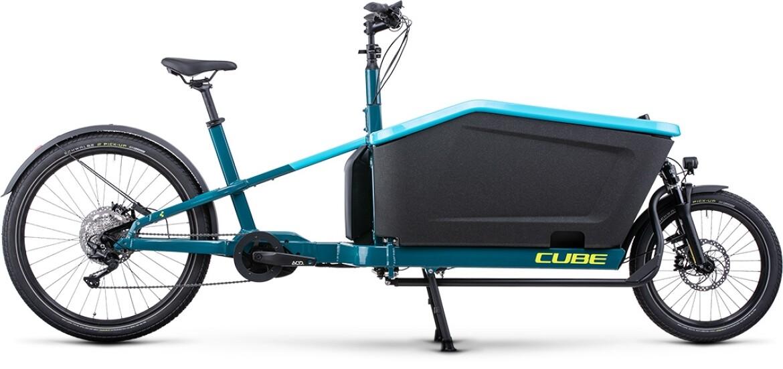 Cube Cargo Sport Dual Hybrid 1000 blue´n´lime