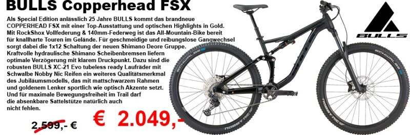BullsCopperhead FSX | Edition