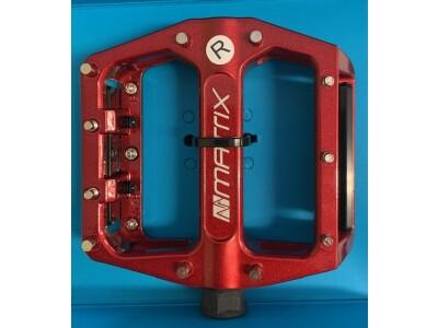 Matrix Plattformpedal PE82 rot