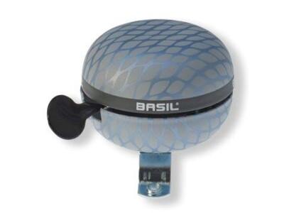 Basil Ding-Dong Glocke Noir silber metallic