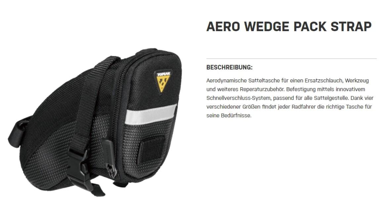 Topeak Aero Wedge Pack Strap