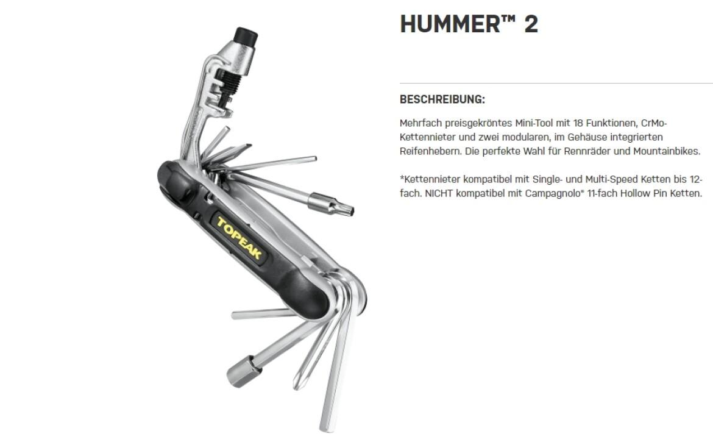 Topeak Hummer