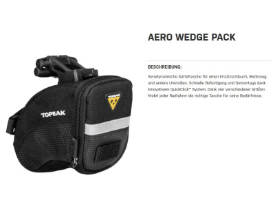 Aero Wedge Pack Small