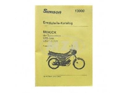 Simson Ersatzteilkatalog Ausgabe 1993