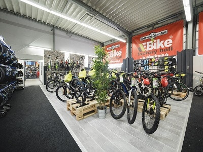 E-Bike factory hall