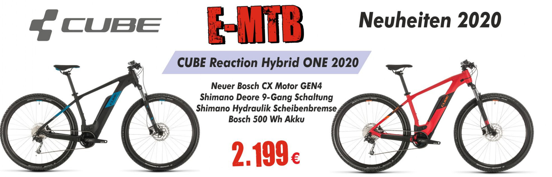 CUBE Reaction Hybrid ONE 2020