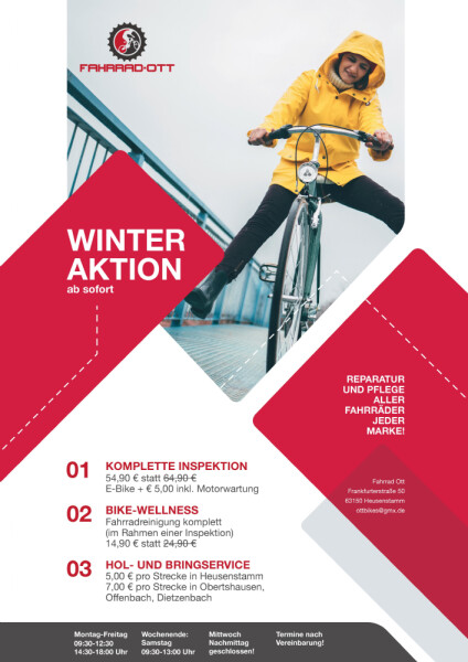 Aktion Winter 2019