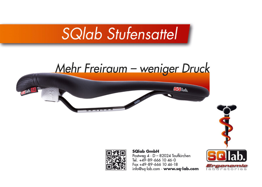 SQlab Stufensattel