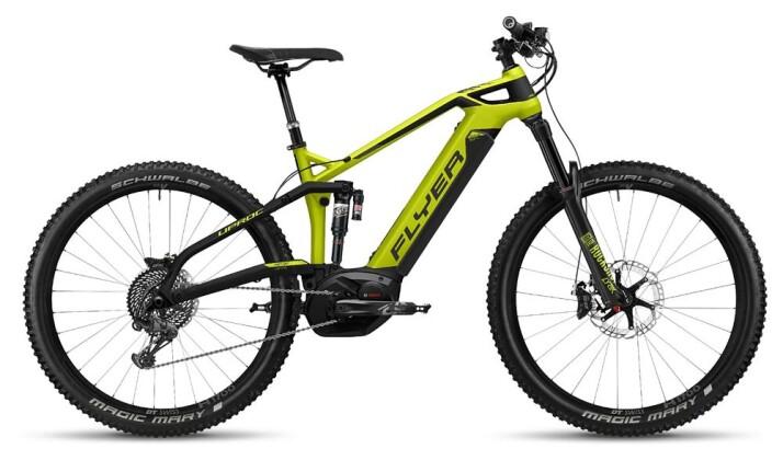 E-Bike FLYER Uproc6 Gekogrün/Schwarz 2018