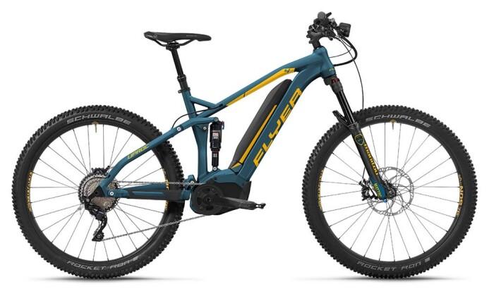 E-Bike FLYER Uproc 4 Azurblau/Goyagelb 2018