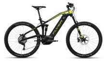 E-Bike FLYER Uproc 3 Spaceblau met/Gekogrün