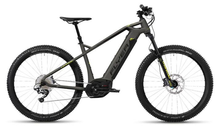 E-Bike FLYER Uproc 1 Schiefergrau/Gekogrün Uproc1 4.10 2018