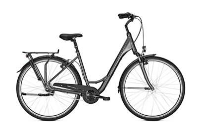 Raleigh Unico Plus, Damen Citybike 7-Gang Nabenschaltung, Rücktrittbremse, LED Beleuchtung, gefedert