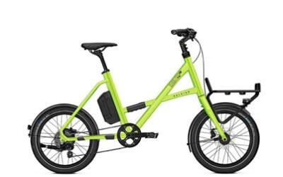 Raleigh Austin Compact, Neues E-Bike System: Groove Go, Leichter Hinterradmotor und 7Ah Akku.
