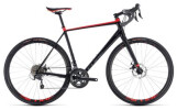 Rennrad Cube Nuroad black´n´red
