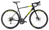 Rennrad Cube Attain Race Disc black´n´flashyellow