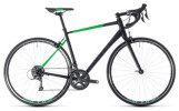 Rennrad Cube Attain black´n´flashgreen