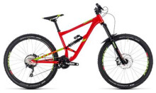 Mountainbike Cube Hanzz 190 Race 27.5 red´n´lime