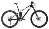 Mountainbike Cube Stereo 140 HPC SL 27.5 carbon´n´white