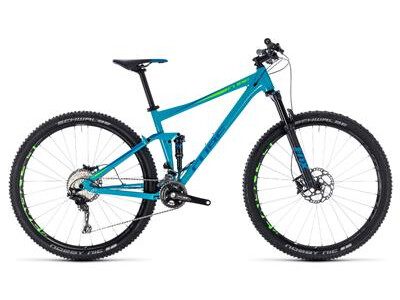 Cube Stereo 120 Race blue´n´green 27,5